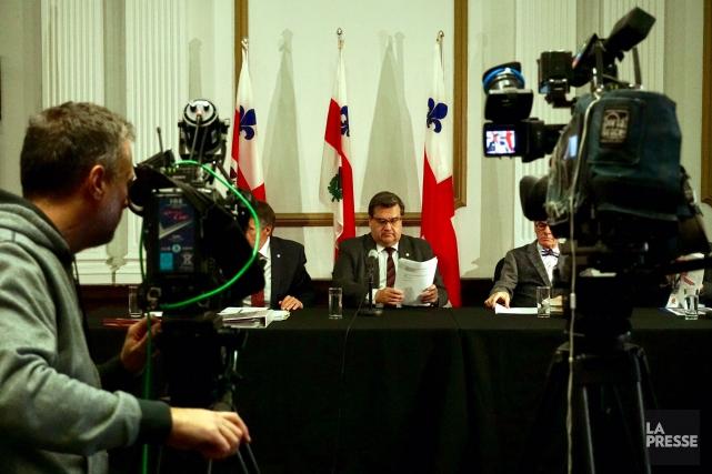 Tout comme dans le dernier budget, l'administration Coderre... (PHOTO MARTIN CHAMBERLAND, LA PRESSE)