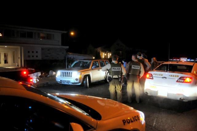 Les policiers de la Sûreté du Québec de la MRC de Drummond ont procédé à... (Photo collaboration spéciale Éric Beaupré)