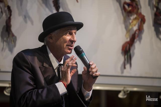 Le cofondateur du Cirque du Soleil, Gilles Ste-Croix.... (Photo Olivier PontBriand, archives La Presse)