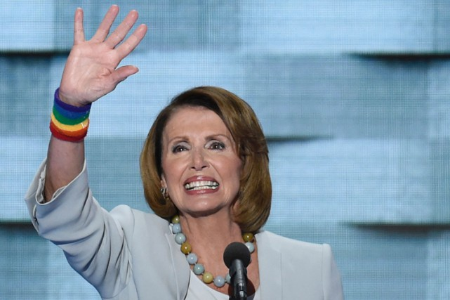 Nancy Pelosi... (PHOTO AFP)
