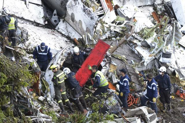Au moment de l'impact, l'appareil de la compagnie... (photo Fernando Vergara, archives AP)