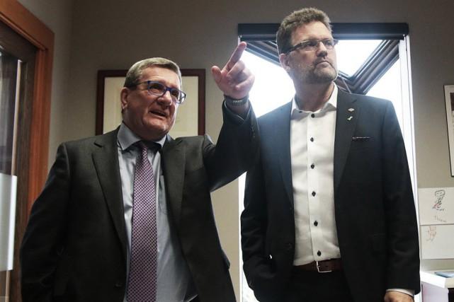 La poussière soulevée par le passage du maire de Québec, Régis Labeaume, n'a...