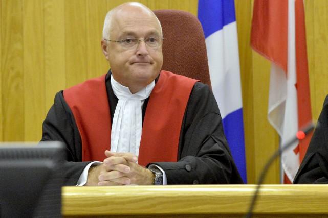 Le juge Gaétan Dumas de la Cour supérieure... (Spectre Média, Maxime Picard)