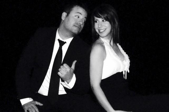 Avec son mari et complice Christian Marc Gendron,... (Courtoisie, Sony)