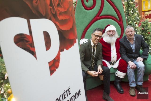 Sur la photo, on aperçoit Daniel Brouillette, directeur... (Stéphane Lessard, Le Nouvelliste)