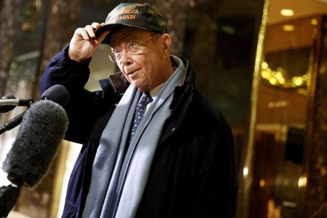 L'homme d'affaires et investisseur milliardaire,Wilbur Ross... (AP)