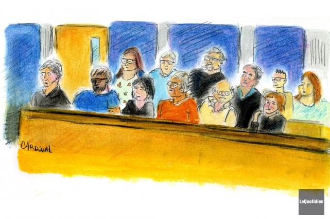 Le procès devant jury d'Yves Martin vient d'atteindre son étape ultime: la... (Illustration Le Quotidien, Christiane Cardinal)