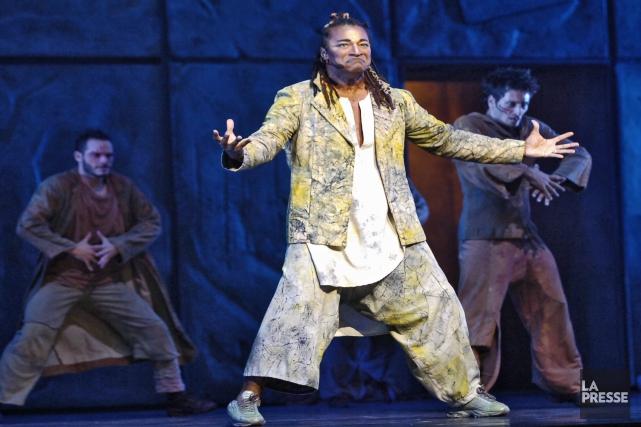 Le spectacle musical Notre-Dame-de-Paris a été présenté au... (Archives La Presse)