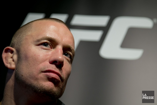 Georges St-Pierre veut redéfinir l'industrie des arts martiaux... (Photo David Boily, archives La Presse)