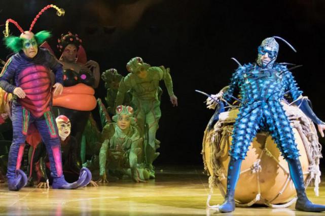 Le Cirque du Soleil n'est pas au bout de ses peines. Hier soir, lors de la... (Photo fournie par le Cirque du Soleil)