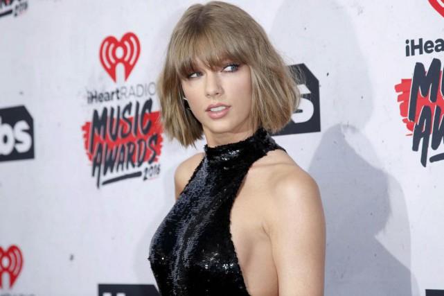 La chanteuse Taylor Swift est la mieux payée... (Photo archives Reuters)