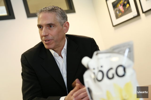 Martin Parent, président d'Aliments Ultima... (Photo archives La Voix de l'Est)
