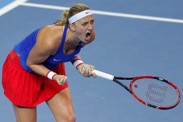 Petra Kvitova... (Photo Vincent Kessler, Reuters)