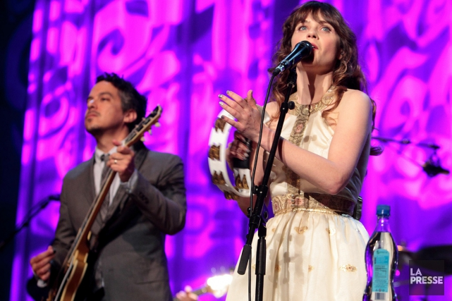 She & Him... (PHOTO ARCHIVES LA PRESSE)