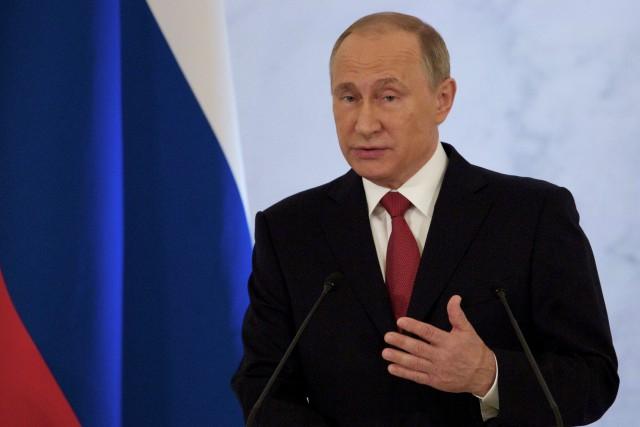 Le président russe Vladimir Poutine... (Photo Pavel Golovkin, archives AP)
