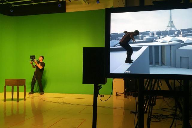 Le studio CBS Digital à Los Angeles, en... (AFP)