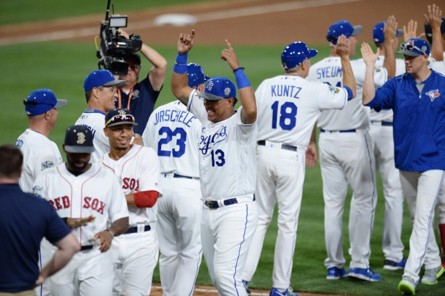 La Ligue américaine a gagné 11 des 14... (Photo Jake Roth, archives USA Today Sports)
