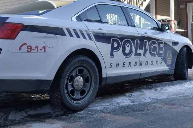 Après enquête, le Service de police de Sherbrooke (SPS) a conclu qu'aucun... (Archives La Tribune, Maxime Picard)