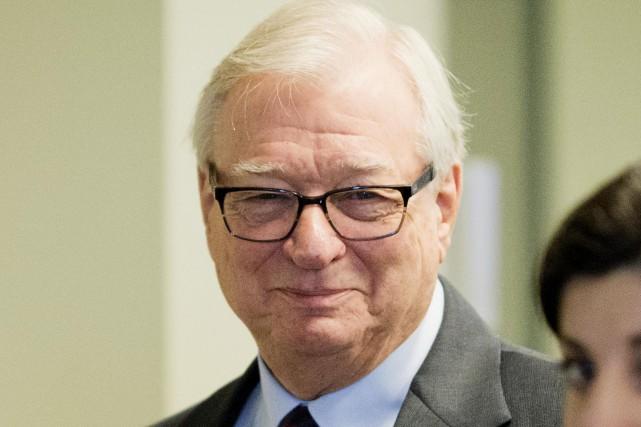 Gilles Vaillancourt, ex-maire de Laval... (La Voix de l'Est La Presse)