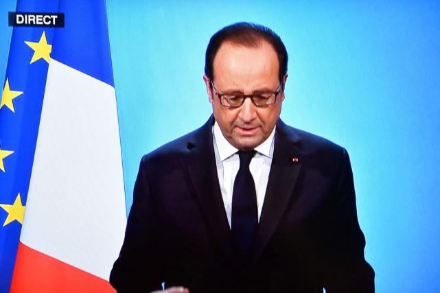 «J'ai décidé de ne pas être candidat à... (image OLIVIER MORIN, Agence france-presse)