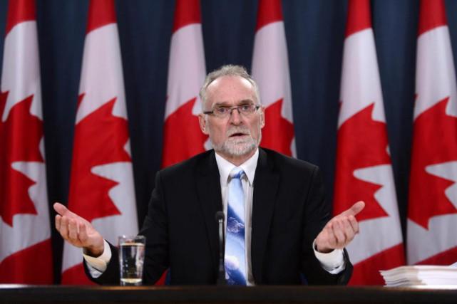 Le parcours du vérificateur général Michael Ferguson montre... (PHOTO SEAN KILPATRICK, LA PRESSE CANADIENNE)