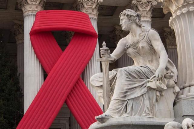 «En ce qui concerne le VIH, les plus... (PHOTO JOE KLAMAR, AGENCE FRANCE-PRESSE)
