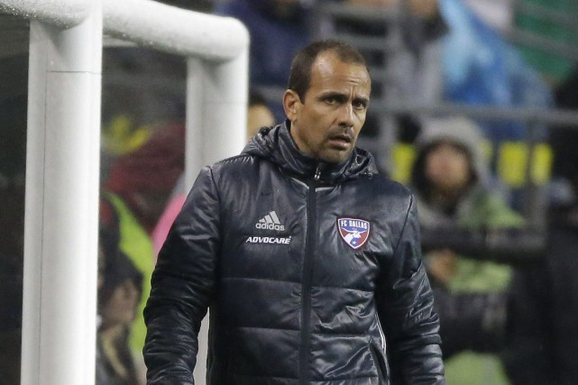 Oscar Pareja... (PHOTO Ted S. Warren, archives AP)