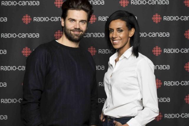 Jean-PhilippeWauthier et Rebecca Makonnen animeront untalk-showà l'américaine, l'été... (Fournie par ICI Radio-Canada Télé)