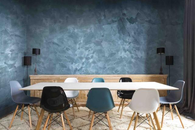 Le fini Jet-Set du revêtement Soie vénitienne, un... (GAP Interiors/Julien Fernandez)