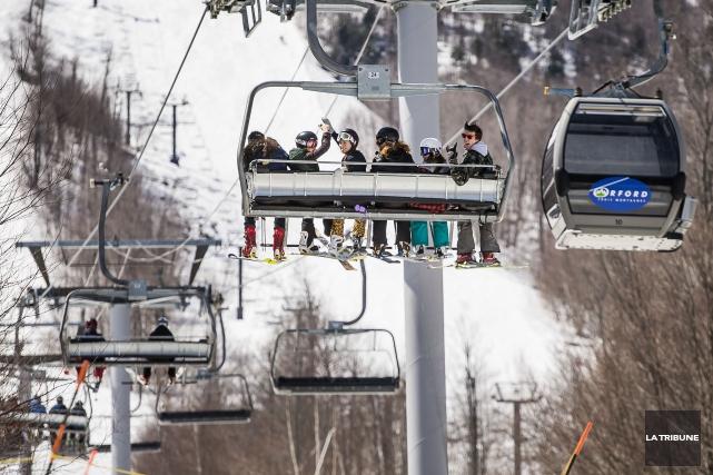 Si les scénarios météo ne changent pas, il y aura du ski en Estrie dans une... (Archives La Tribune)