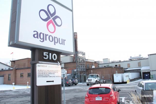 Le géant québécois des produits laitiers Agropur est... (archives La Voix de l'Est)