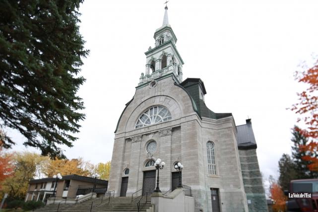 C'est ce vendredi et samedi soir que l'église... (Catherine Trudeau, archives La Voix de l'Est)