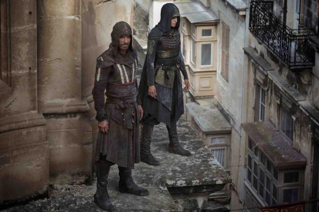 Michael Fassbender et Ariane Labed dansAssassin's Creed... (Fournie par 20th Century Fox)