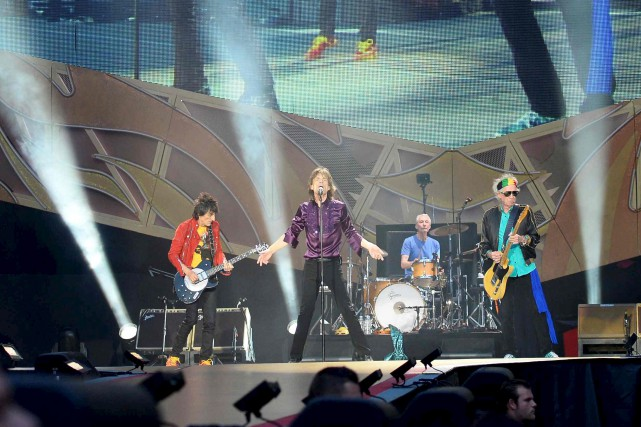 Blue and Lonesome est le premier album des Rolling... (Archives AFP)