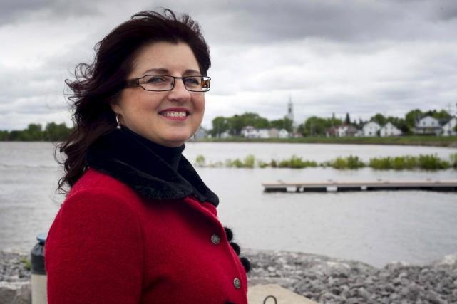 Sonya Auclair, mairesse de Batiscan.... (Sylvain Mayer)