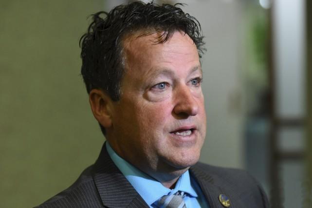 Le député Donald Martel.... (François Gervais, Le Nouvelliste)