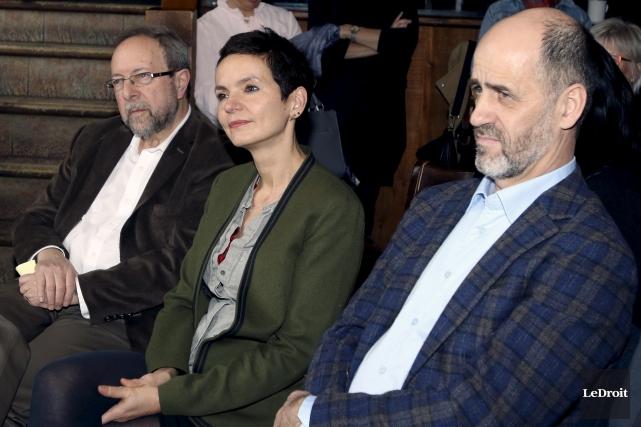 Bado, Anais Barbeau-Lavallette et Michel Ouellette sont les... (Etienne Ranger, Le Droit)
