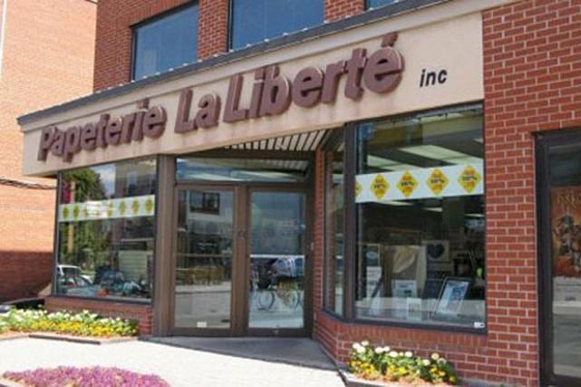 La Papeterie La Liberté, située sur la rue... (tirée du www.tourismegranby.com)