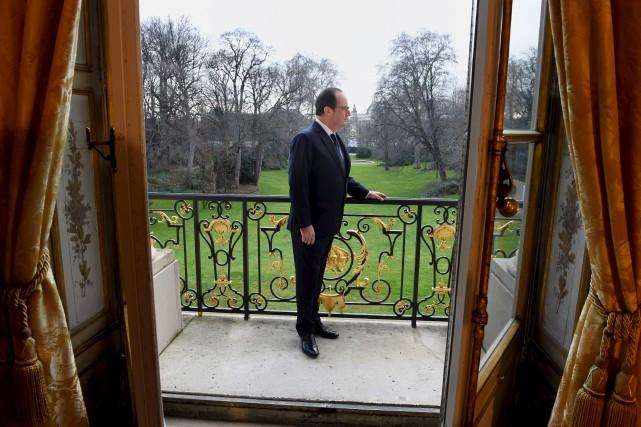Le président socialiste n'a jamais bénéficié de bonnes... (AFP)