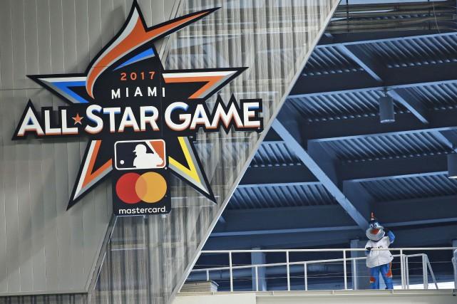 Le Match des étoiles du baseball majeur, qui... (AP, Wilfredo Lee)