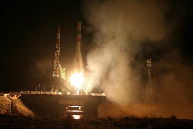 L'agence spatiale russe Roskosmos a annoncé jeudi soir... (Roscosmos via Reuters)