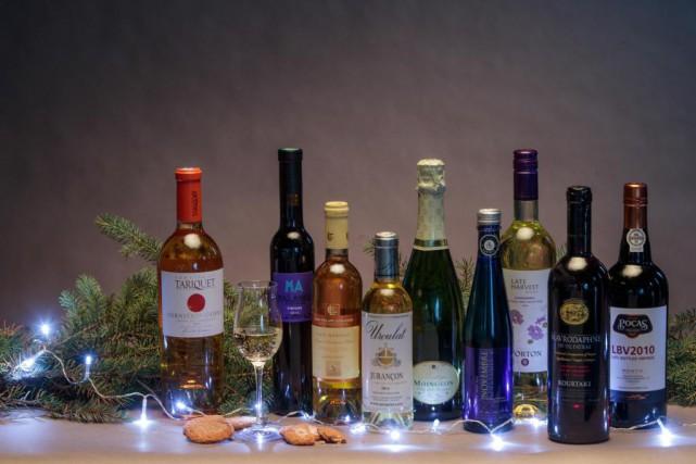 Les vins de dessert concluent un repas comme... (PHOTO HUGO-SÉBASTIEN AUBERT, LAPRESSE)