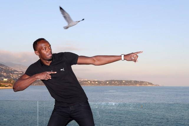 Usain Bolt... (Valery Hache, AFP)