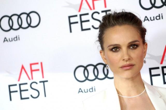 L'actrice Natalie Portman, dans une diatribe contre le... (PhotoTOMMASO BODDI, archives Agence France-Presse)