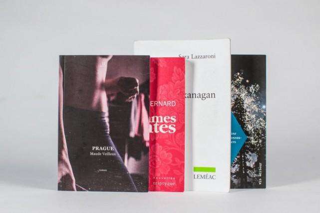 Quatre romans québécois parus au cours de l'automne... (PHOTO OLIVIER PONTBRIAND, LA PRESSE)