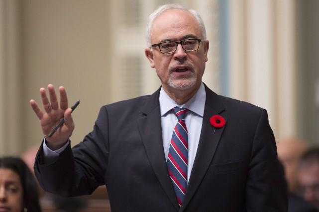 Le ministre des Finances du Québec, Carlos Leitao... (Archives, La Presse canadienne)