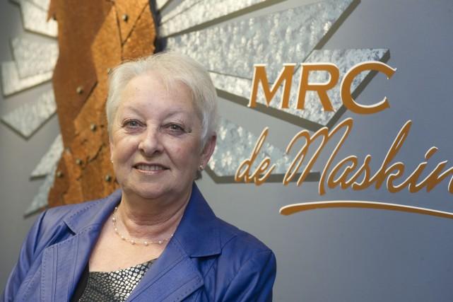 Barbara Paillé, mairesse de Sainte-Angèle-de-Prémont... (Stéphane Lessard)