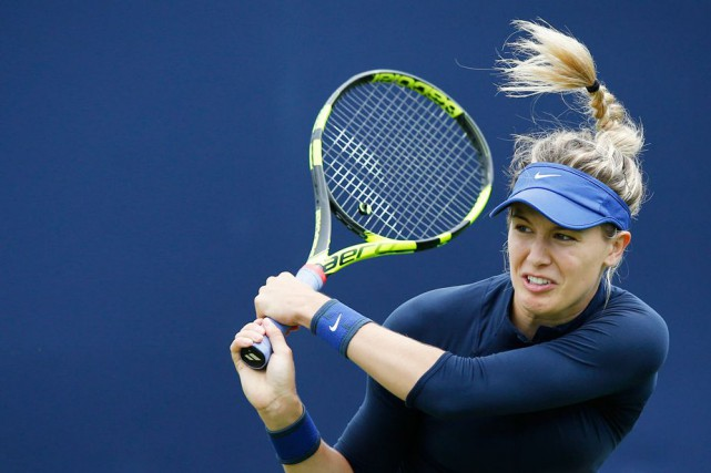 Eugenie Bouchard... (PHOTO PETER CZIBORRA, ARCHIVES REUTERS)