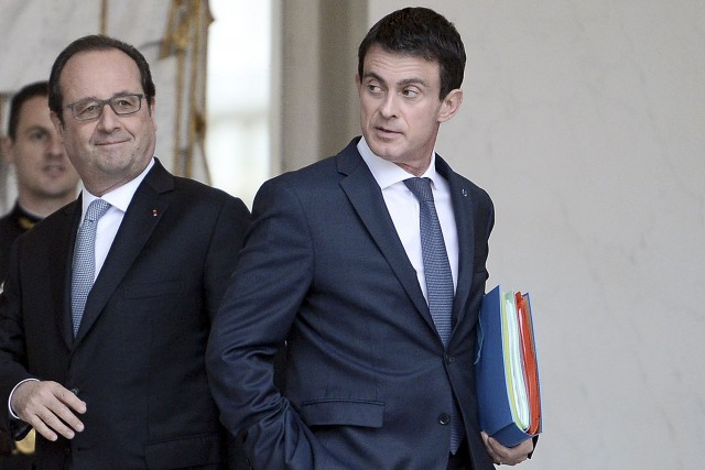 Maintenant que François Hollande (à gauche) a confirmé... (AFP)