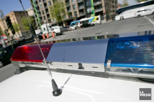 Deux patrouilleurs de la Sûreté du Québec ont... (archives La Presse)